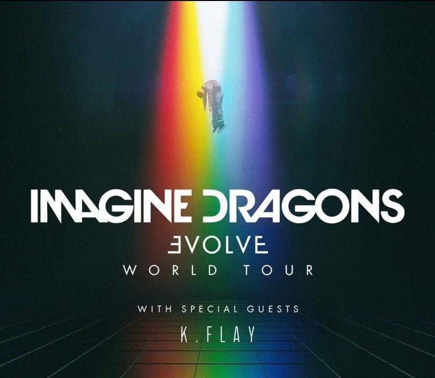 Imagine Dragons Evolve World Tour 2018