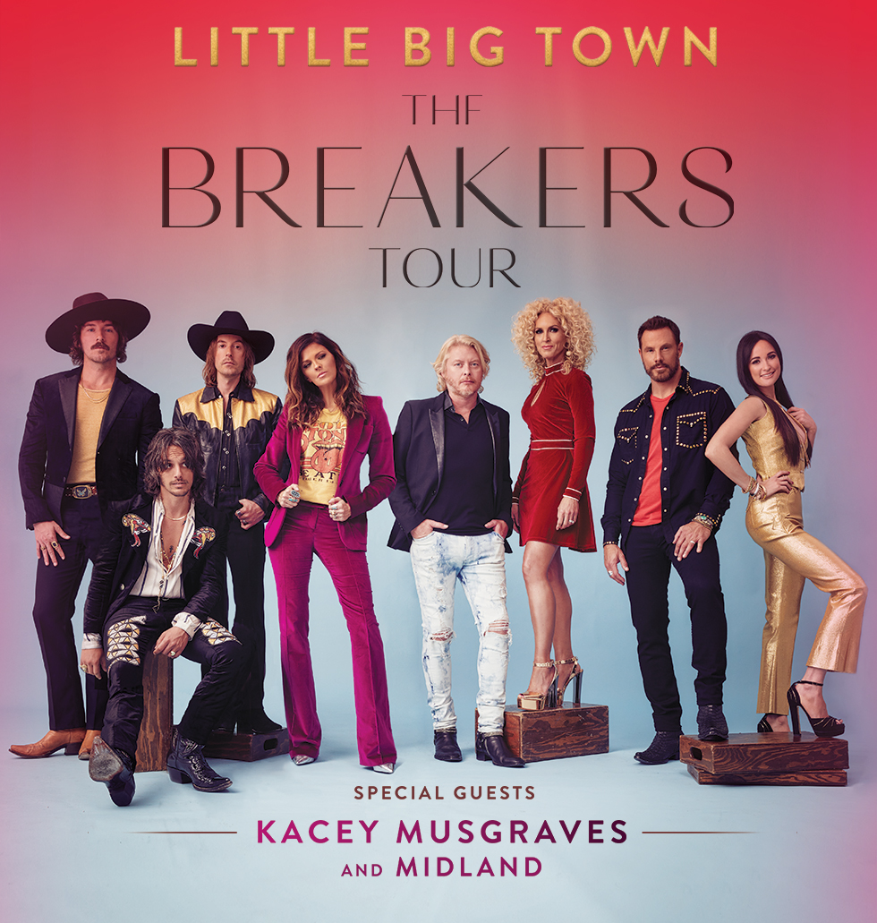 Little Big Town The Breakers Tour 2018
