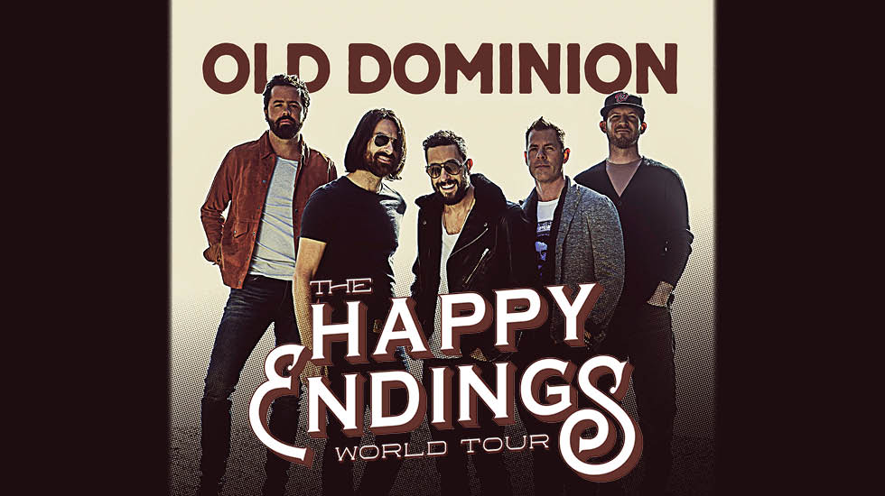 Old Dominion Tour: Official VIP Packages - CID Entertainment