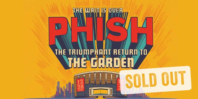 Event archive cid entertainment - Phish madison square garden tickets ...