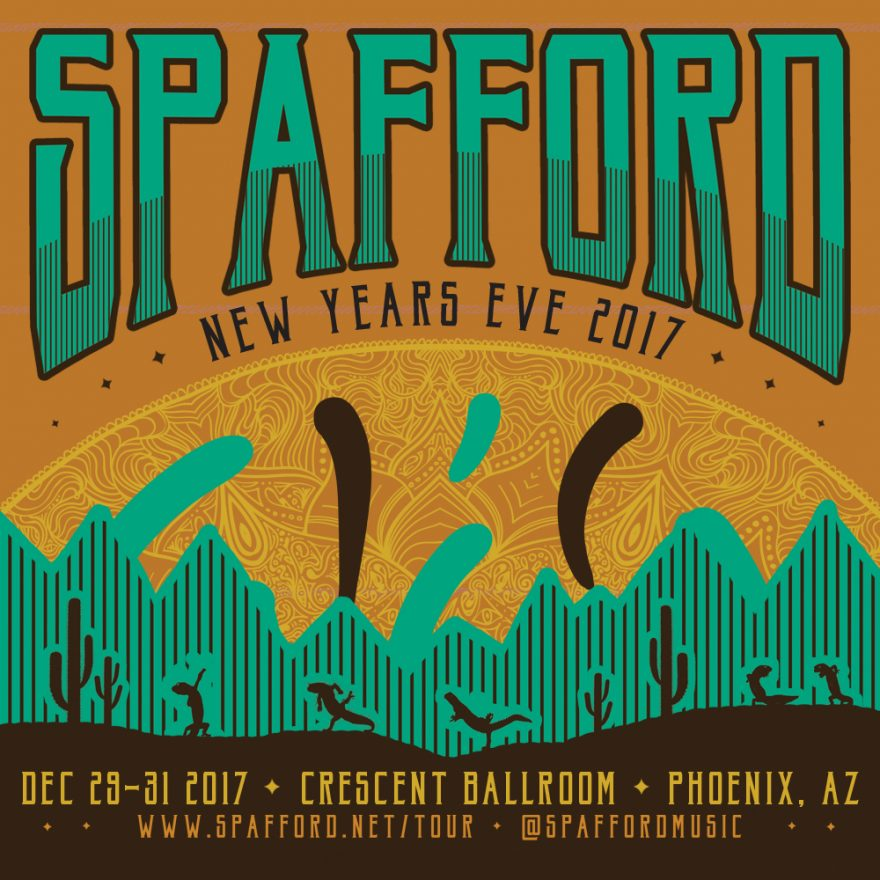 Spafford New Year's Eve 2017
