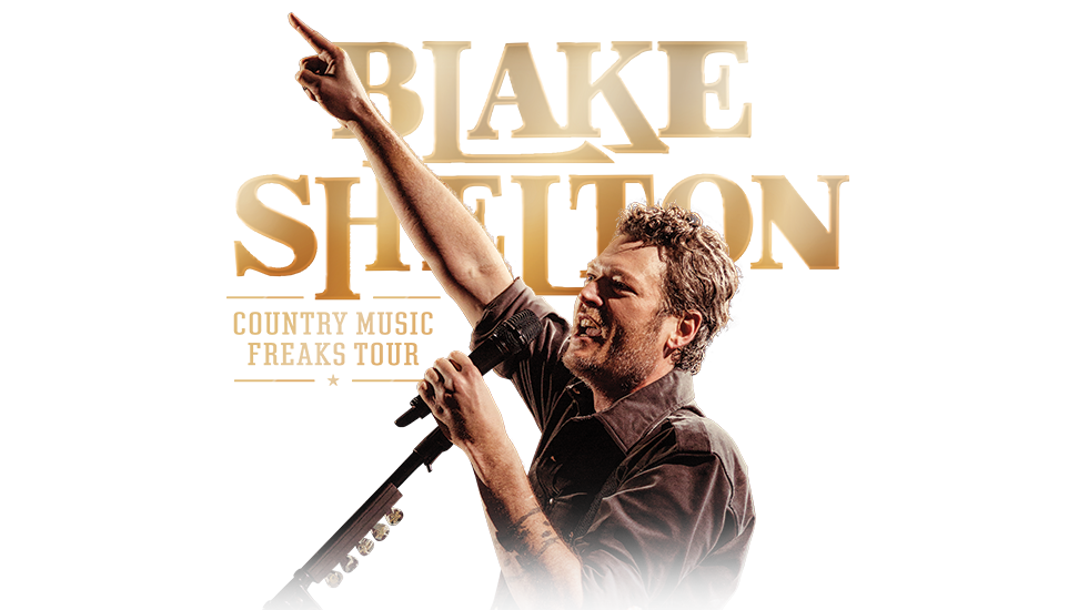 Blake Shelton Country Music Freaks Tour 2018