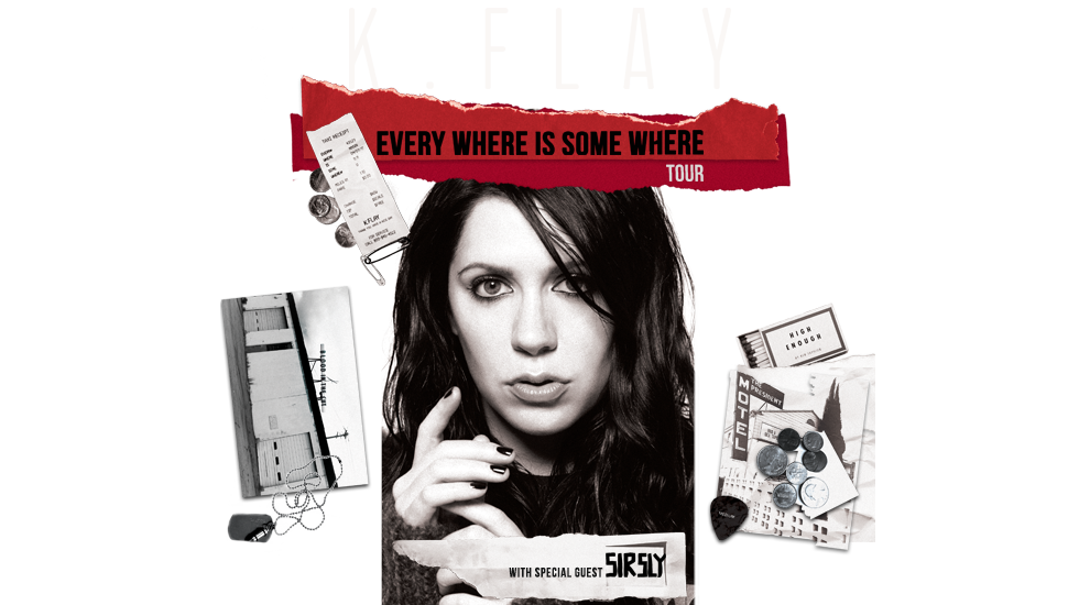 "K.Flay ""Every Where is Some Where"" Tour 2018"