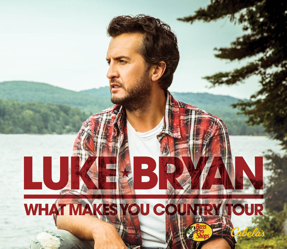 Luke Bryan What Makes You Country Tour 2018