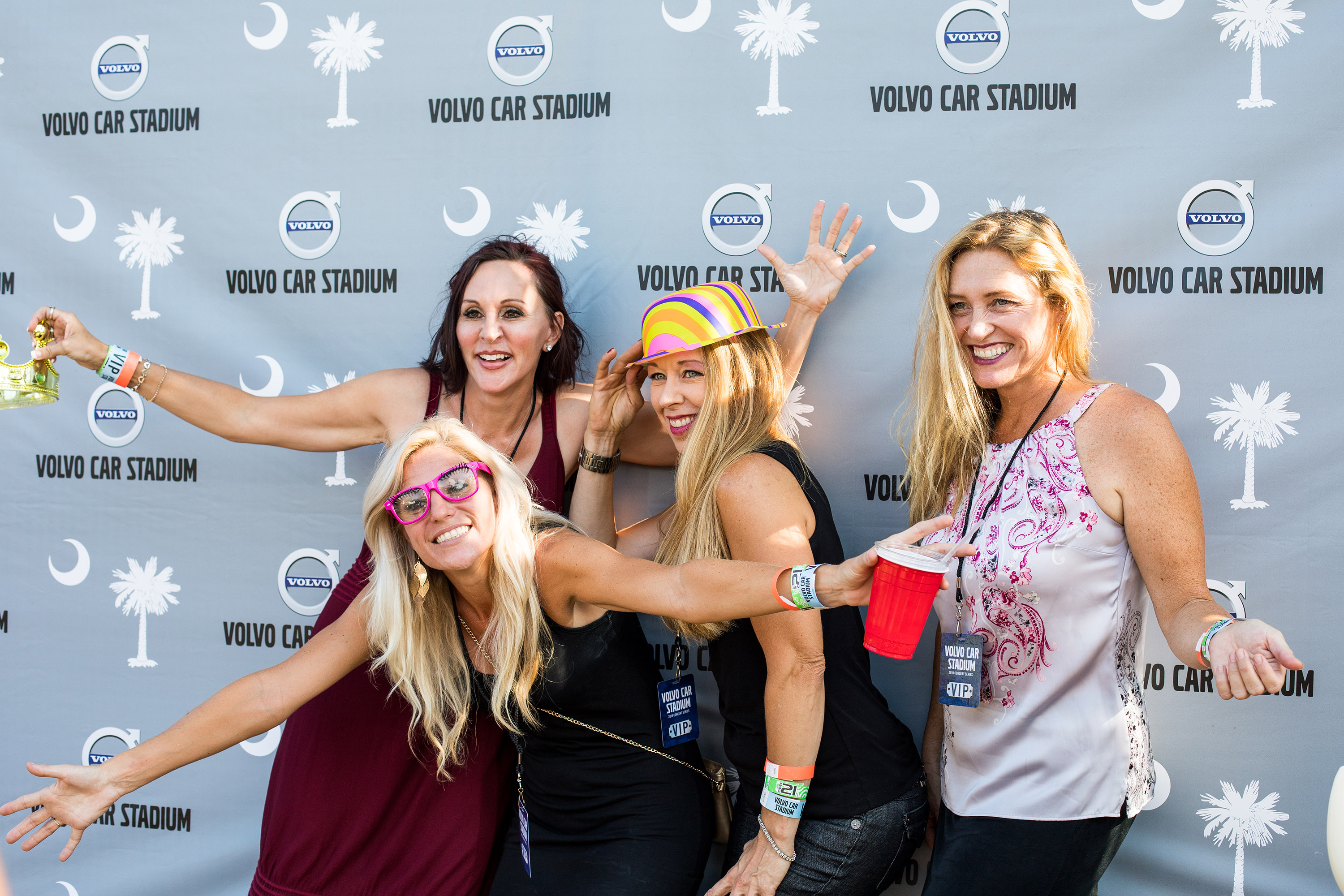 Volvo Car Stadium Concert Series Vip Experiences