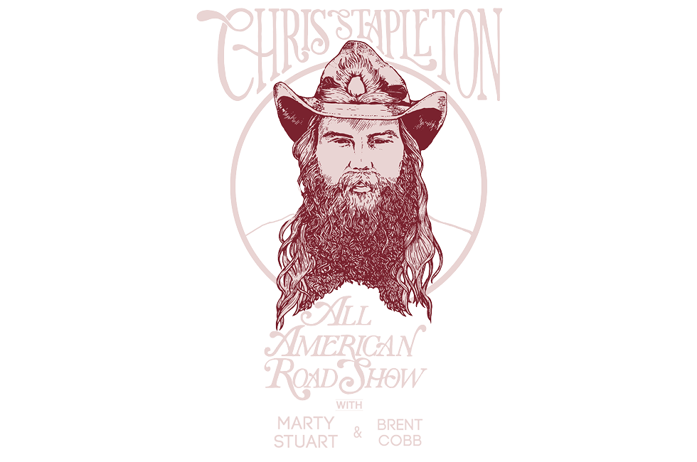 Chris Stapleton All American Road Show Tour 2018