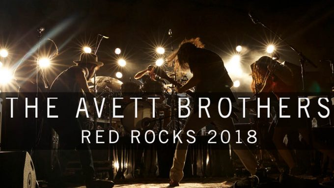 The Avett Brothers at Red Rocks 2018
