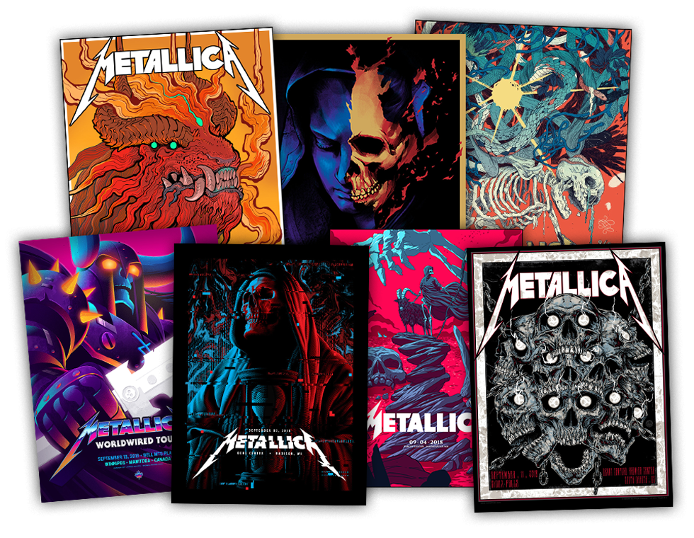 Metallica WorldWired Tour: Enhanced Experience Packages