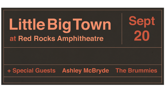 Little Big Town at Red Rocks 2018