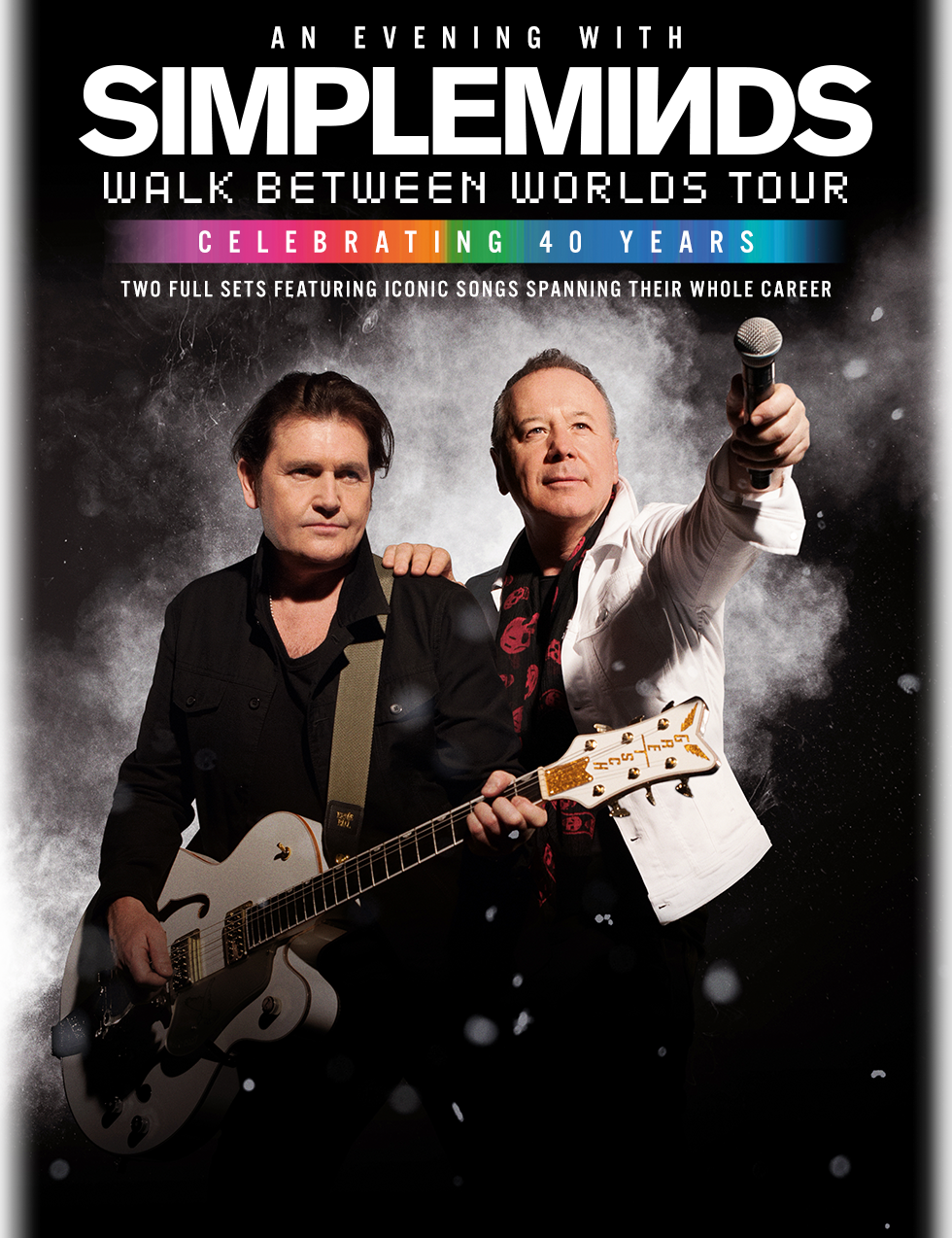 Simple Minds Fall Tour 2018