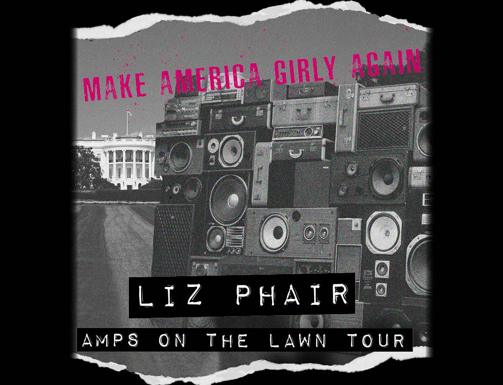 Liz Phair Amps On The Lawn Tour 2018