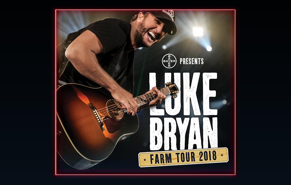 Luke Bryan Farm Tour 2018
