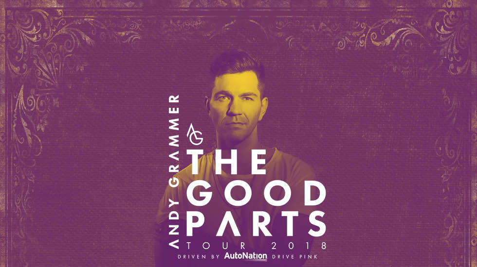 Andy grammer the good parts tour 2018 vip tickets andy grammer tour 2018 m4hsunfo