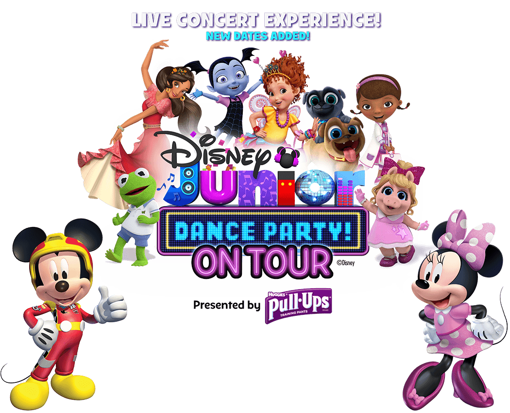 Disney Junior Dance Party Fall Tour 2018