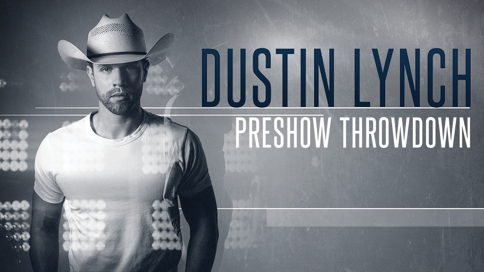 Dustin Lynch on tour with Thomas Rhett 2019