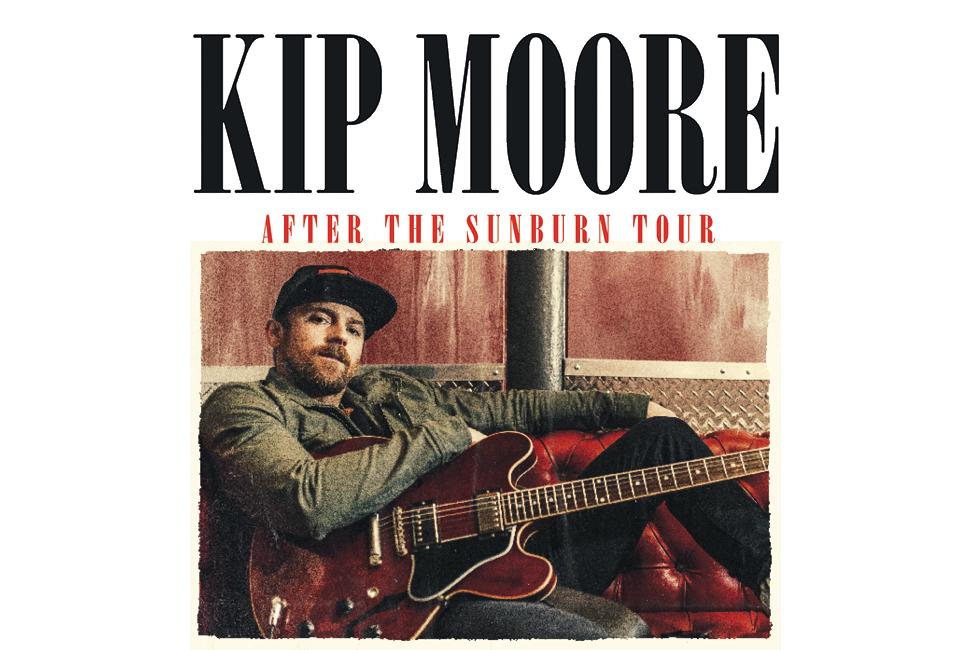 Kip Moore Tour 2018