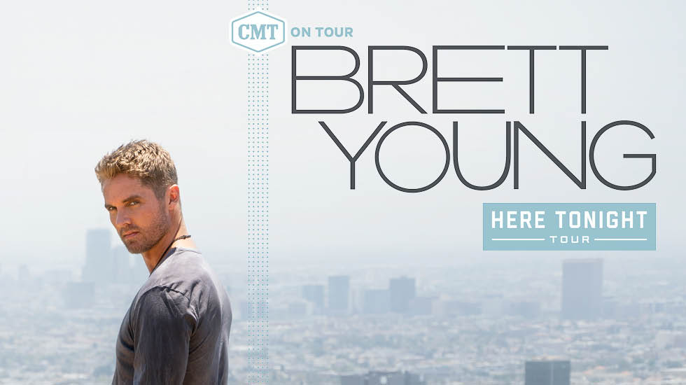 Brett Young Fall Tour 2018