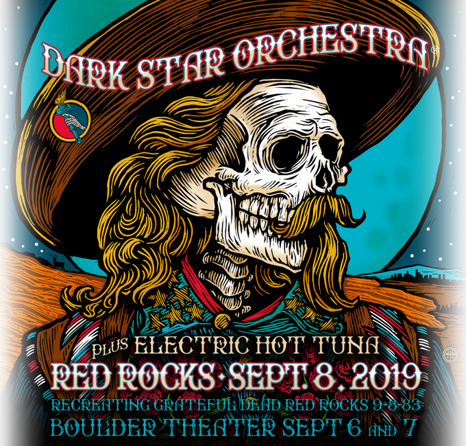 Dark Star Orchestra at Red Rocks 2019