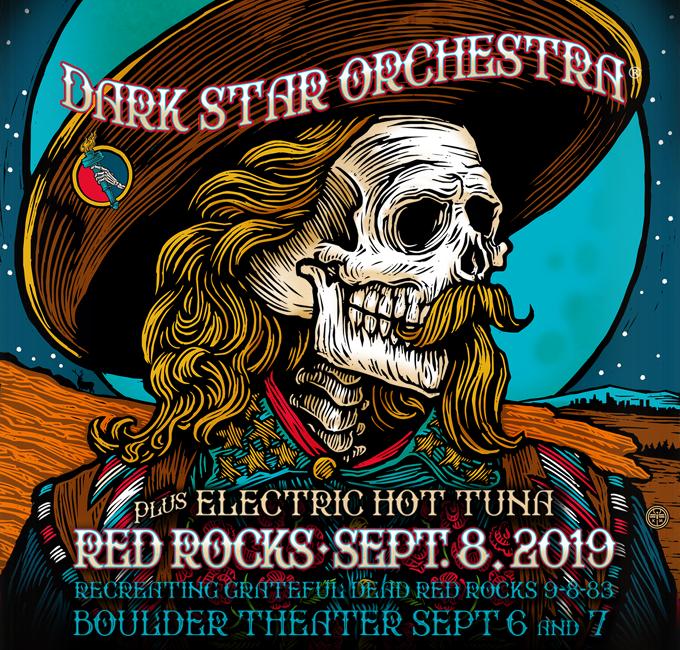 Dark Star orķestris pie Red Rocks 2019