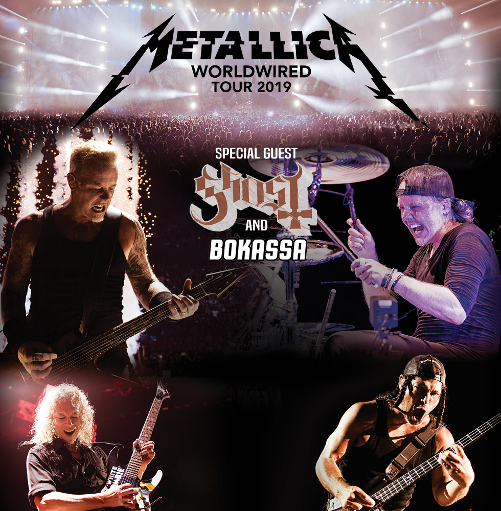 Metallica European Tour 2019