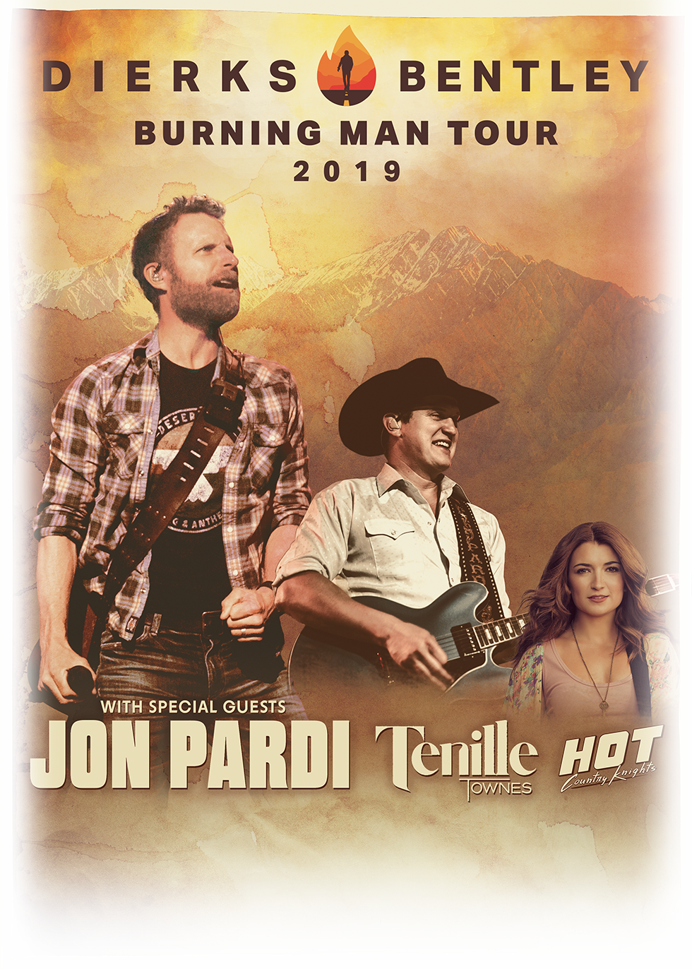 Dierks Bentley Winter Tour 2019