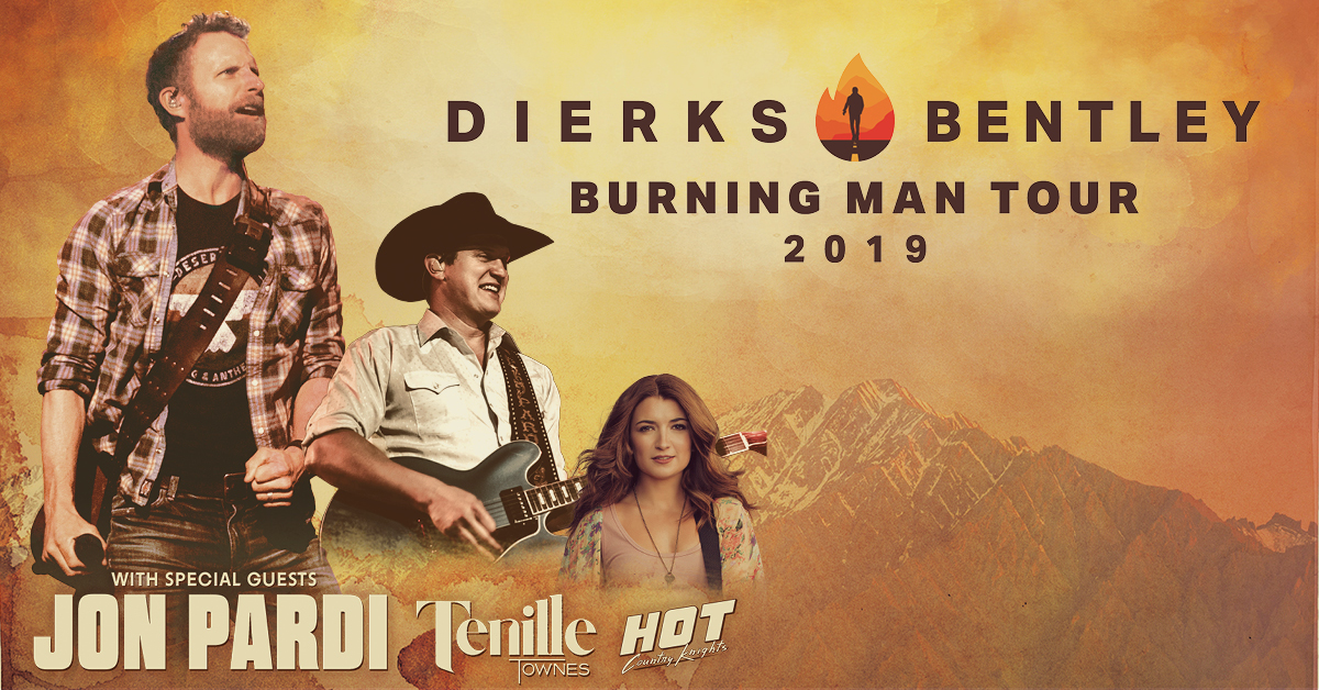 dierks bentley tour 2019: official vip packages - cid entertainment