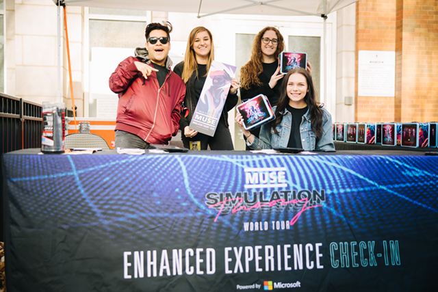 Muse Simulation Theory World Tour 2019: Official Enhanced Experiences