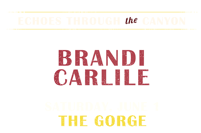 Brandi Carlile at The Gorge 2019