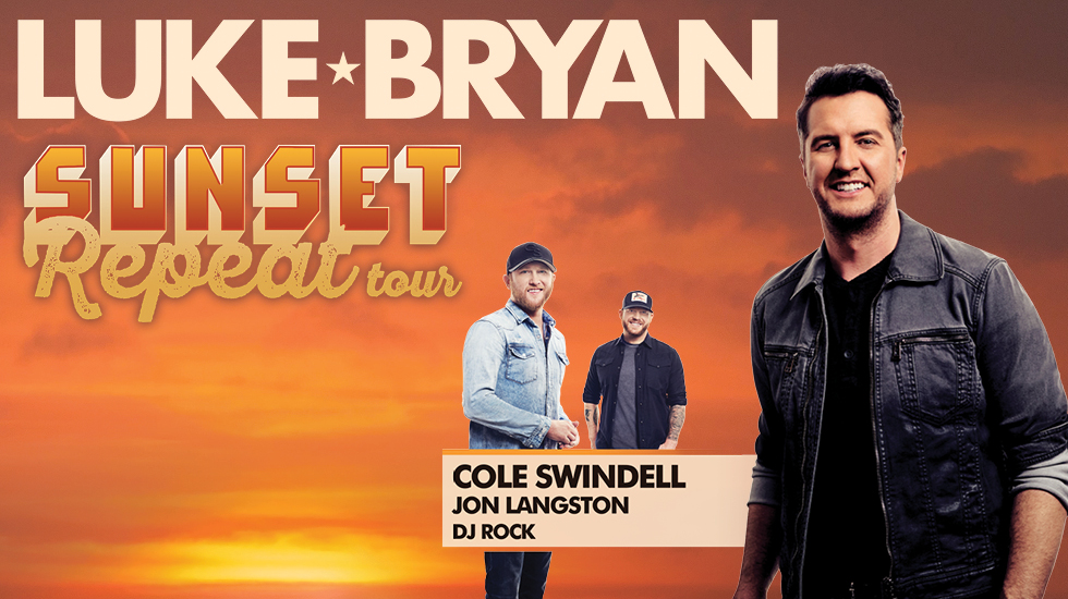 "Luke Byran brings ""Sunset Repeat"" tour to CMAC"