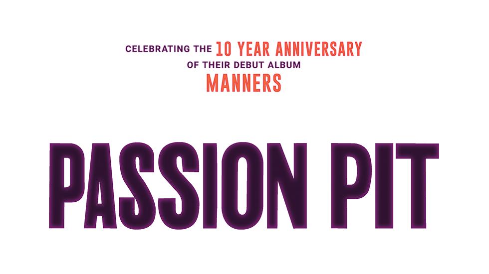 Passion Pit Spring Tour 2019