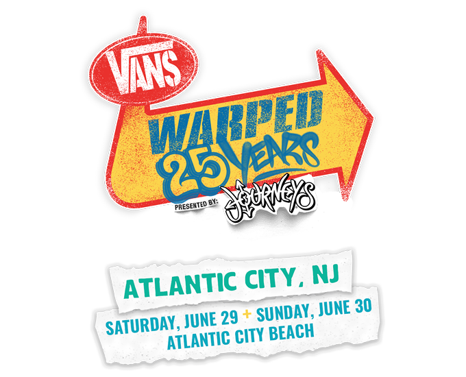 Vans Warped Tour Atlantic City 2019