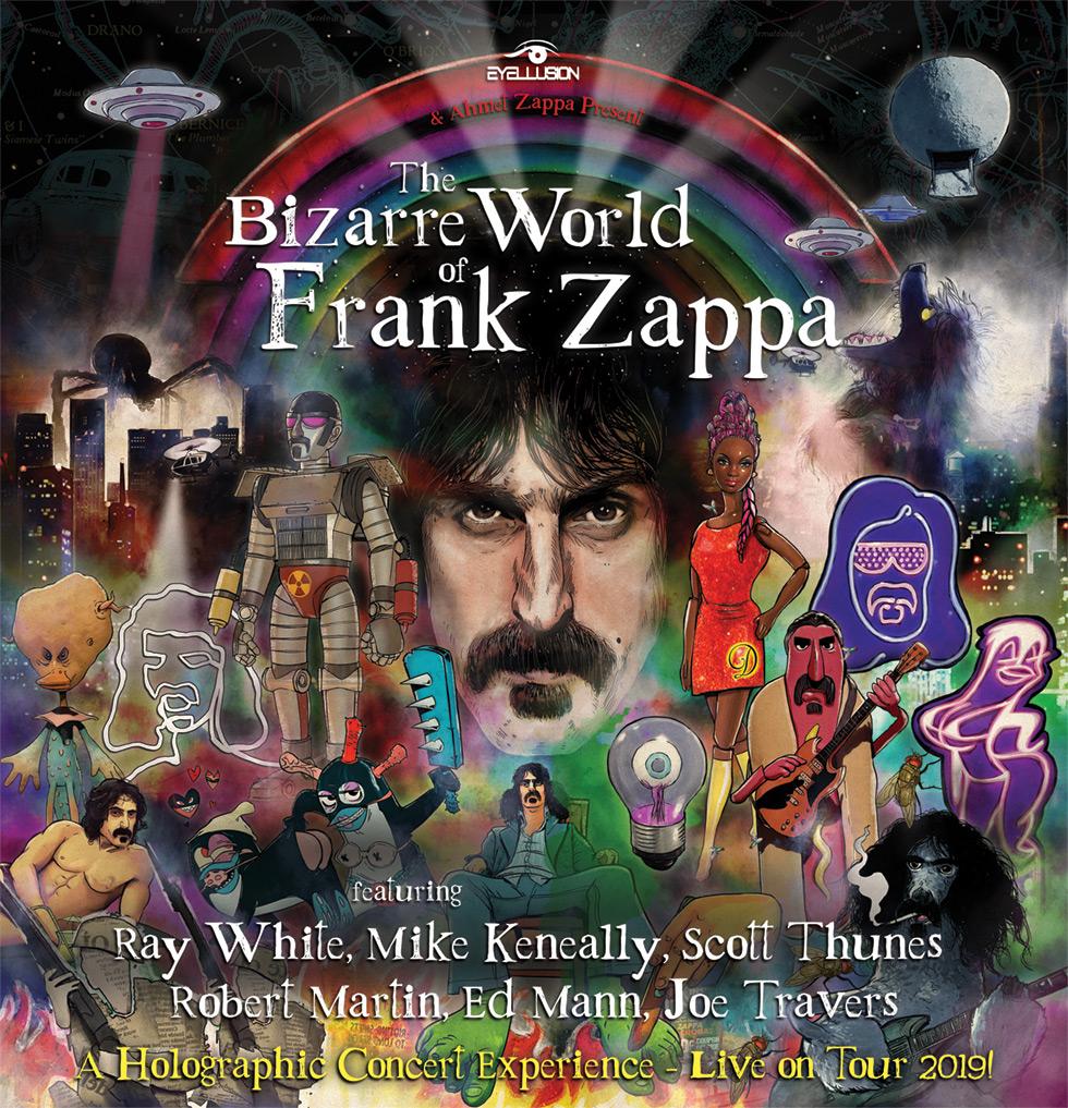 Frank Zappa Hologram Spring Tour 2019