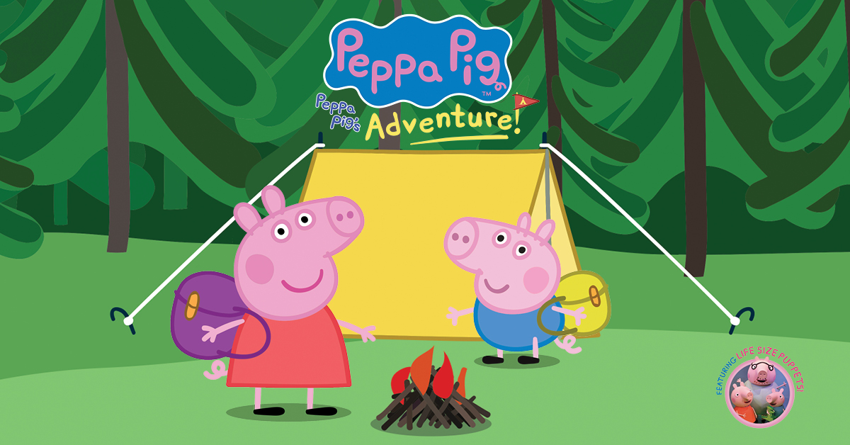 Peppa Pig S Adventure 2019 Official Vip Party Passes