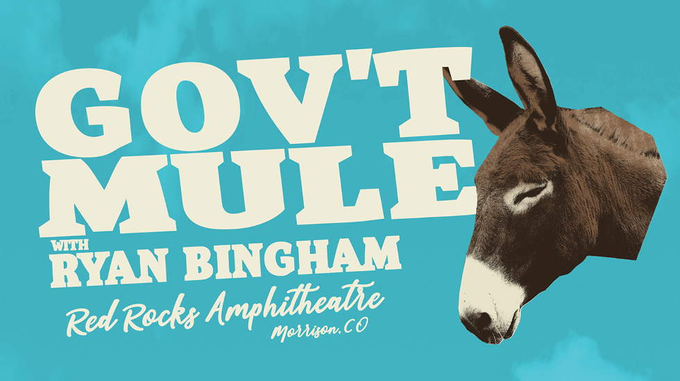 Gov't Mule at Red Rocks 2019
