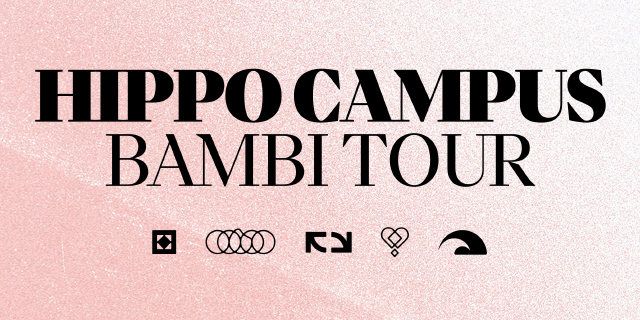 Hippo Campus Fall 2019 Banner