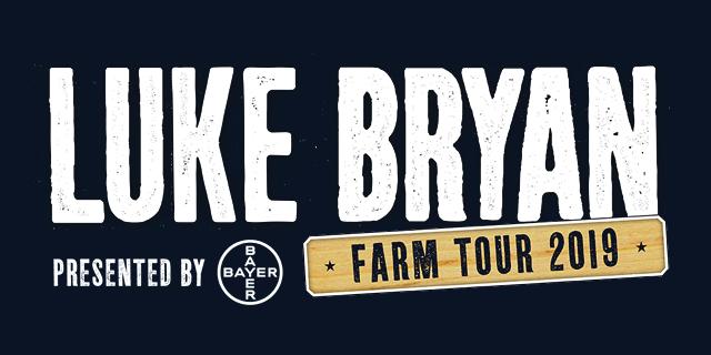 Luke Bryan Farm Tour 2019 Main Banner