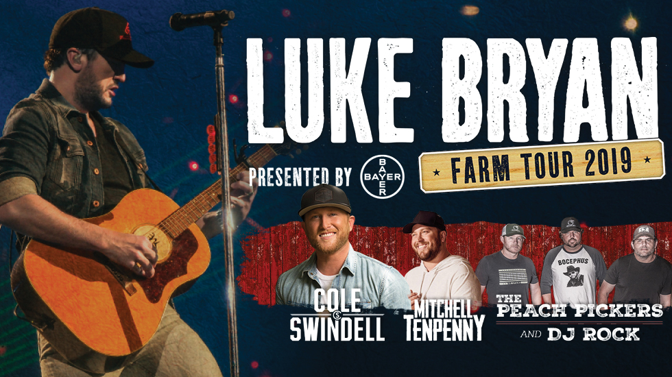 Luke Bryan Farm Tour 2019
