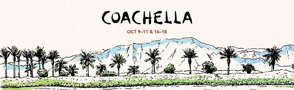 Coachella 2020 Header, October 9-11 and 16-18