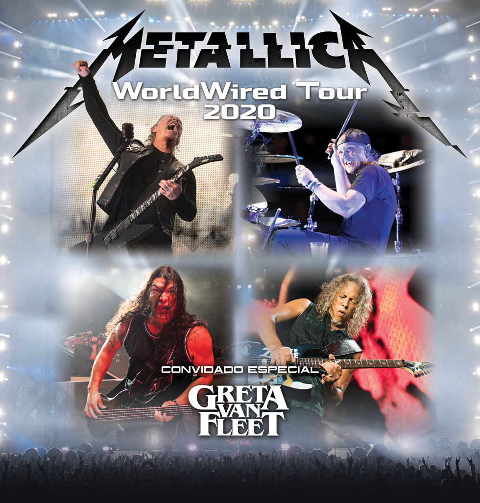 Metallica South American Tour 2020