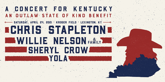 Chris Stapleton Concert for Kentucky 2021 header