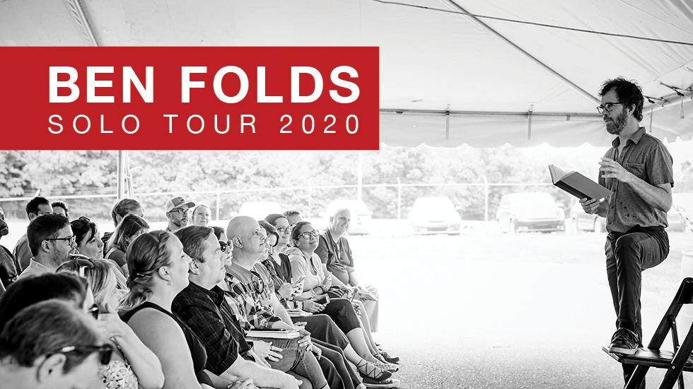 Ben Folds Solo Tour 2020