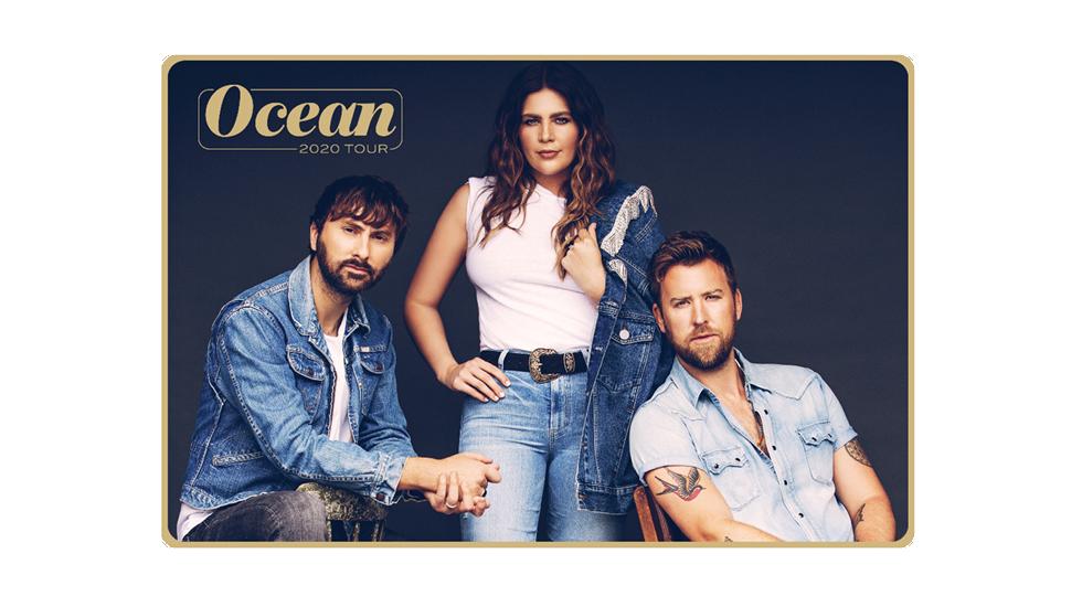 Lady Antebellum – Ocean 2020 Tour