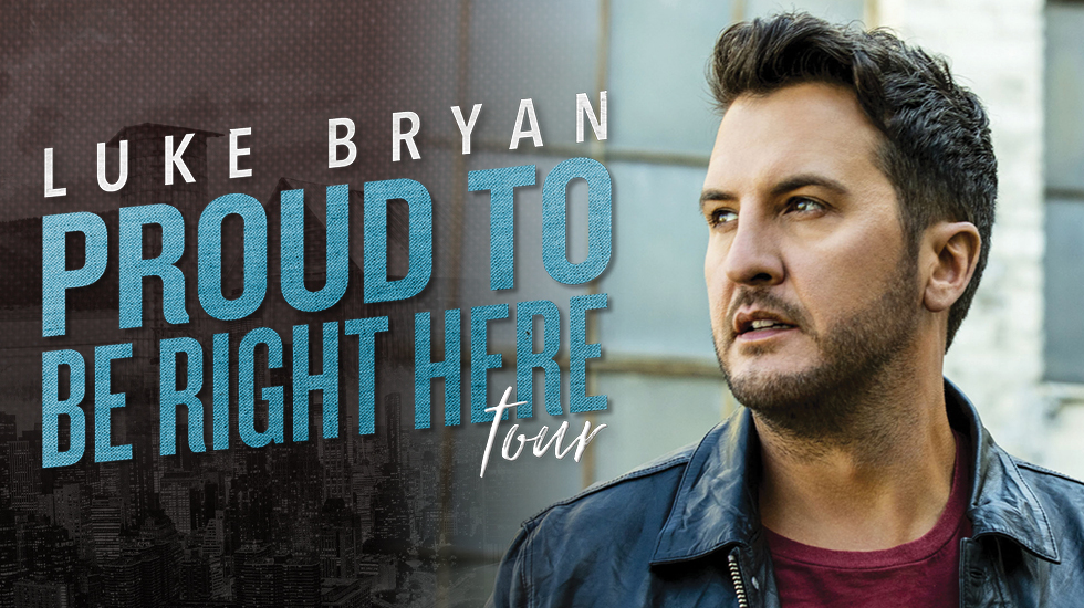 Luke Bryan Proud To Be Right Here Tour