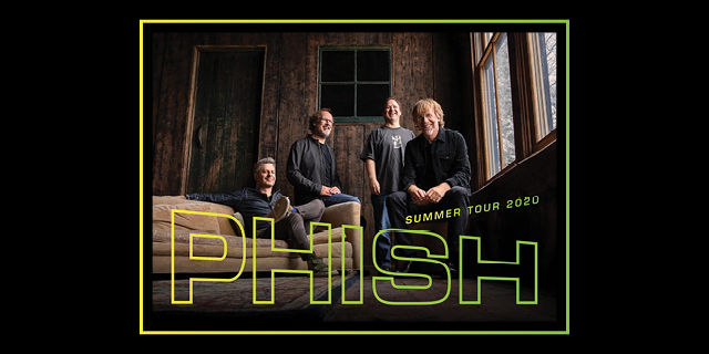 Phish Summer 2020 header