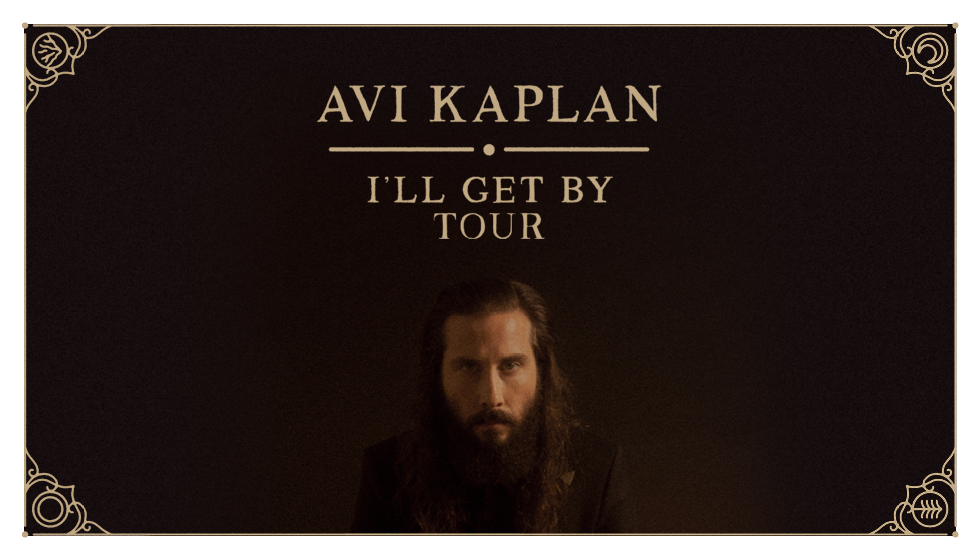 Avi Kaplan Spring Tour 2020