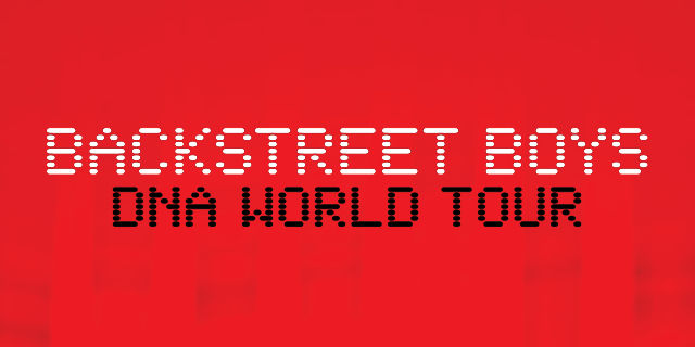 Backstreet Boys DNA World Tour 2020 Header