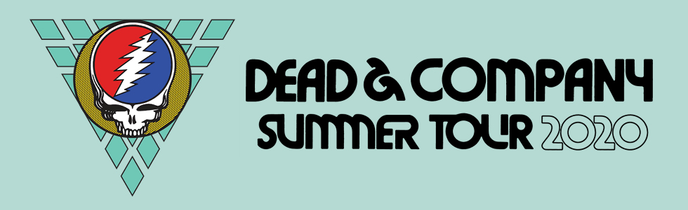 Dead & Company Summer 2020 Tour Header