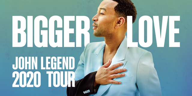 John Legend Summer Tour 2020 Header