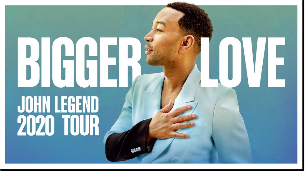 John Legend Bigger Love Tour