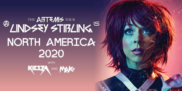 Lindsey Stirling Summer Tour 2020